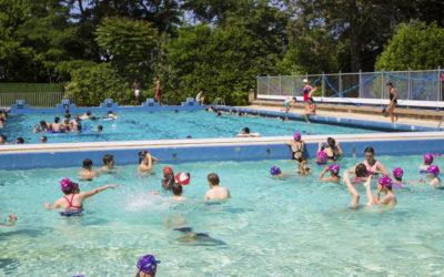 Inscriptions aux cours de piscine cet été