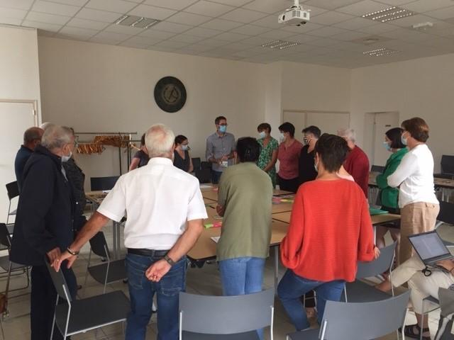 Restructuration site Saint-Louis : un groupe de travail en action